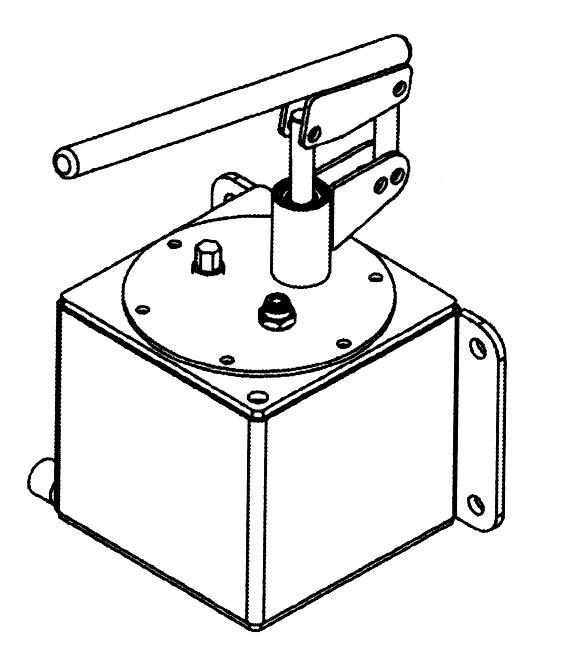 Pompe à main inox basse pression