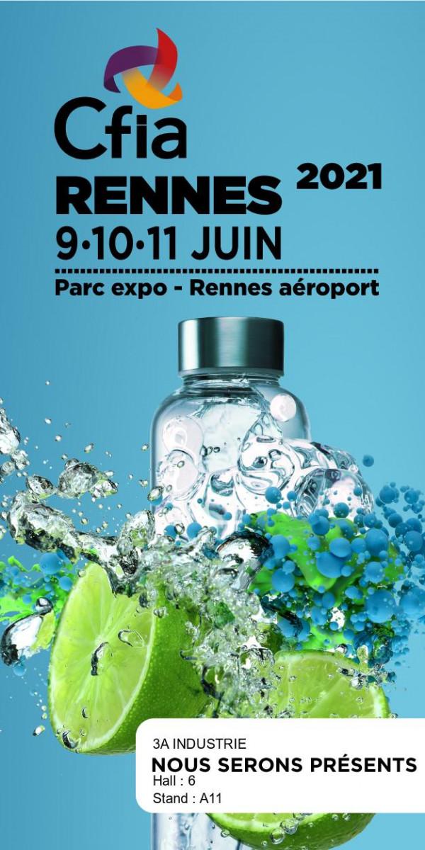 3A industrie au CFIA de Rennes, Hall 6, Stand A11